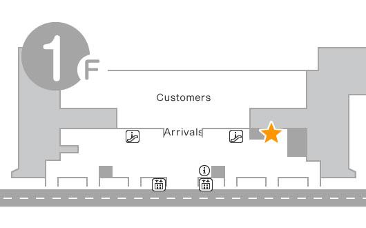 International terminal 1F Yamato Transport