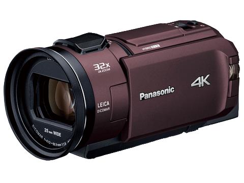 パナソニックの最新ビデオカメラ