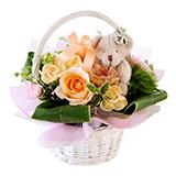 季節のお花を使ったおまかせブーケの画像