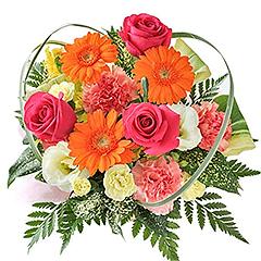 季節のお花を使ったおまかせブーケ