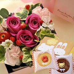 お花とスイーツセット
