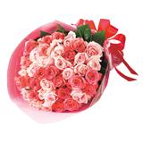 39本(サンキュー)のバラの花束