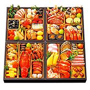 <オリジナル>おせち料理与段重「福彩」