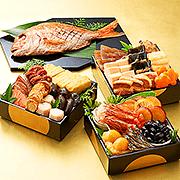 ベルーナオリジナル常温おせち祝(鯛付三段用) 全20種