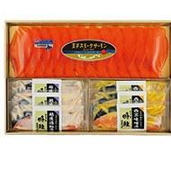 北海道 王子サーモン スモークサーモン&漬魚詰合せ 商品画像