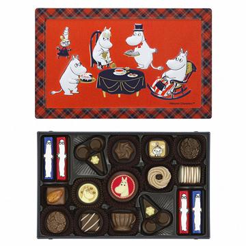 メリーチョコレート ムーミン × メリーチョコレート アソーテッドチョコレート
