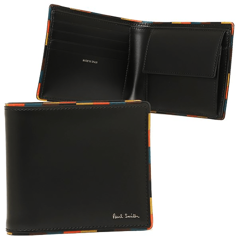 ポール・スミス(Paul Smith)メンズ二つ折り財布