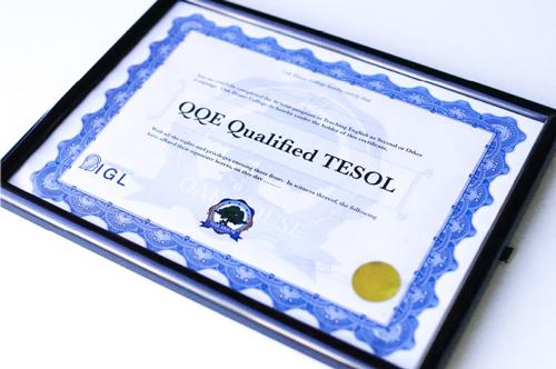 国際資格TESOLを持ったプロ教師から学べる
