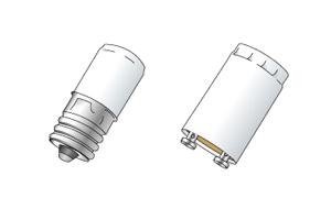 スタータ形蛍光灯は「点灯管(グローランプ、グロースターター)」もセットで交換しましょう