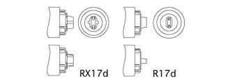 「蛍光灯」の主な口金の形状
