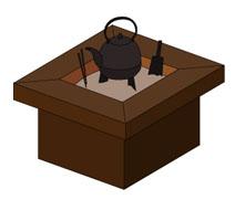 火鉢(ひばち)
