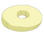 ドーナツ型(円座)