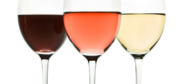 ワイングラスを選ぶ