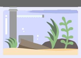 水槽をセッティングしようアイコン
