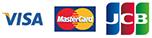 VISA・MasterCard・JCB