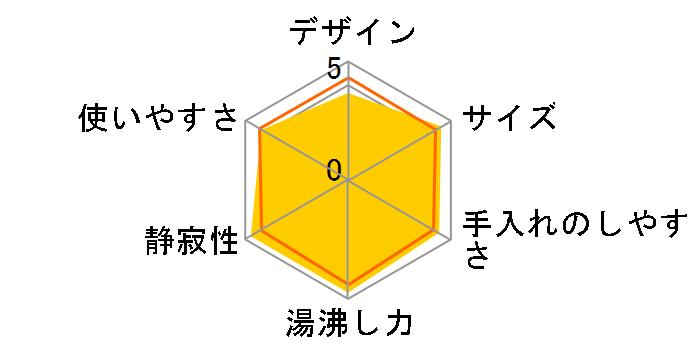 蒸気レス電気ケトル わく子 PCJ-A081