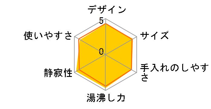 蒸気レス電気ケトル わく子 PCK-A080