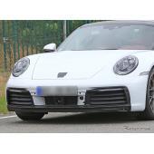 ポルシェ 911 新型、アクティブシャッター&新開発ブレーキキャリパーを確認