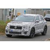 コンパクトSUVにも300馬力の「R」…VW T-Roc R、生産モデルをスクープ