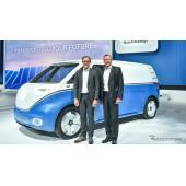 VWの次世代EV『I.D.』に商用車、航続550km以上…ハノーバーモーターショー2018