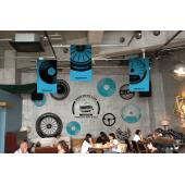 横浜ゴム、「音楽×ドライブ」がコンセプトのカフェをオープン