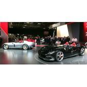 フェラーリが810馬力のスピードスター発表、「風をも楽しむ」…パリモーターショー