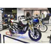 プジョーモーターサイクル『P2Xコンセプト』と『P2Xカフェレーサー・コンセプト』(パリモーターショー2018)