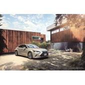 レクサス ES 新型、ミシュラン プライマシー3を新車装着