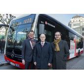 メルセデスベンツの新世代EV大型バス、『eシターロ』…運行開始