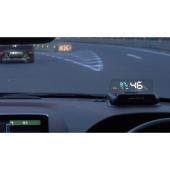 モジ、GPS+シガーソケットで設置できるヘッドアップディスプレイの一般発売開始