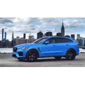 ジャガー F-PACE、2019年モデルの受注開始 高性能モデル「SVR」追加