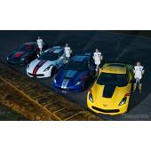 シボレー コルベット、4人のレーサーがカスタマイズ…4仕様を今春米国発売へ