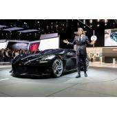 【ジュネーブショー2019】ブガッティが史上最高約14億円のワンオフモデルを発表