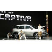 シボレー キャプティバ 新型がアジアデビュー、ベースは宝駿 530…バンコクショー