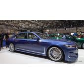 BMW 7シリーズ 改良新型に早くもアルピナ、巨大グリルに608馬力…ジュネーブ