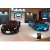 【オートモビル カウンシル2019】マクラーレンは新旧オープンスポーツカーを展示