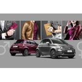 高級レザーシート採用の限定車「フィアット500ユニセックス」発売