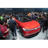 VWの電動SUVは航続450km、2021年市販予定…上海モーターショー2019