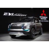 新型パジェロ?市販の可能性も? 三菱の3列シートPHEVコンセプトが進化…上海モーターショー2019