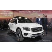 メルセデスベンツのコンパクト電動SUV『EQB』、2021年に発売へ…上海モーターショー2019