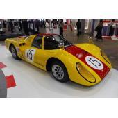 【人とくるまのテクノロジー展2019 横浜】ダイハツは往年のレーシングカー「P-5」を展示