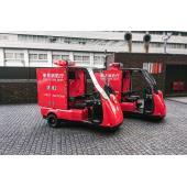 光岡3輪EV「ライク-T3 緊急自動車」、東京消防出初式で初公開