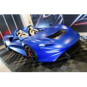 マクラーレンが新型ハイパーカー「エルヴァ」を日本初公開