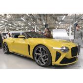 最新のV8 コンチネンタルGT に、生産わずか12台の『バカラル』