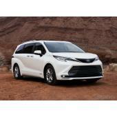 米トヨタ、全車ハイブリッドの大型ミニバン発表… シエナ 新型