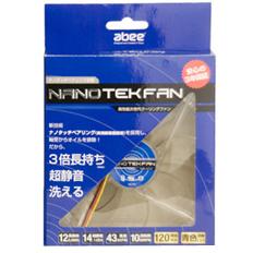 NANO TEK FAN NT12-WP-BL