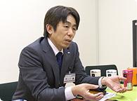 シャープ 健康・環境システム事業本部 プラズマクラスター機器事業部 商品企画部 部長 冨田昌志さん