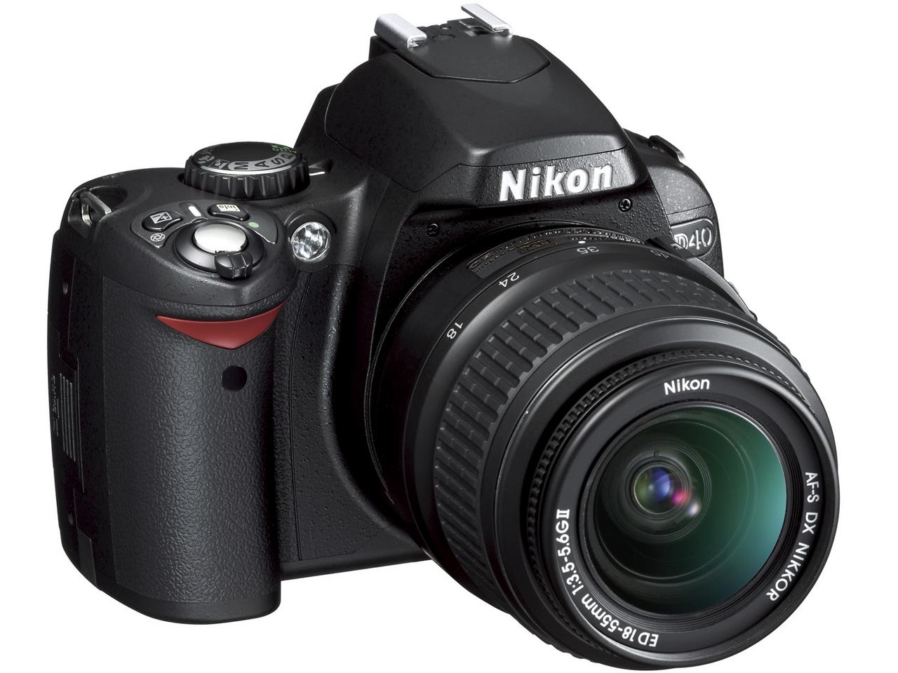 『本体 正面3』 D40 レンズキット の製品画像