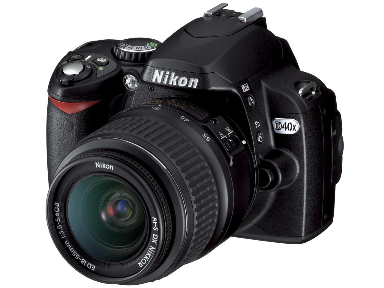 『本体 正面1』 D40x レンズキット の製品画像