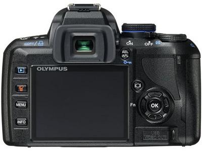 『本体 背面』 E-420 レンズキット の製品画像